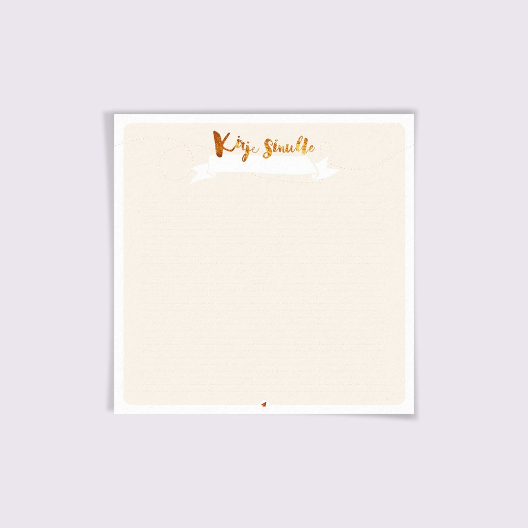 kirje sinulle
